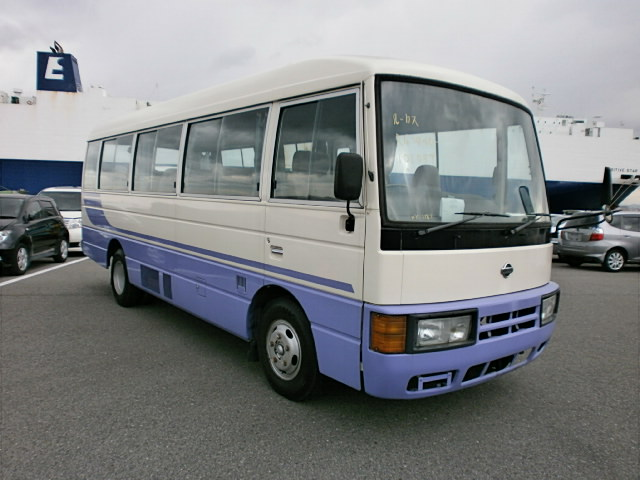 nissan civilian bus kc rgw40 japanese used cars lucus japan t limited. Black Bedroom Furniture Sets. Home Design Ideas